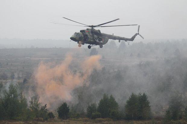 Afganistan'da NATO helikopteri kalkış esnasında düştü
