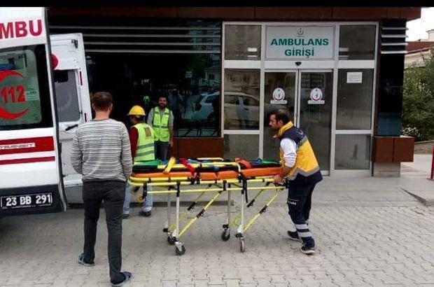Elazığ'da zehirlenme şüphesi: 77 işçi hastaneye kaldırıldı