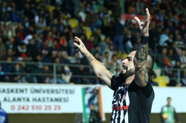 Aytemiz Alanyaspor: 1 - Beşiktaş: 2 (MAÇ SONUCU)