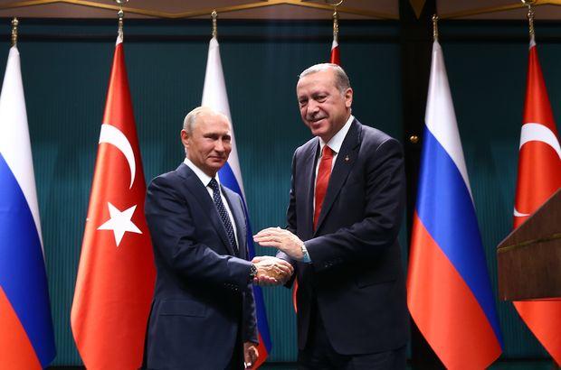 Cumhurbaşkanı Erdoğan ve Rusya lideri Putin telefonda görüştü