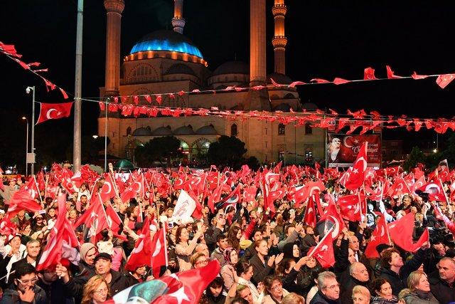 29 Ekim Cumhuriyet Bayramı coşkusu yurdun dört bir yanını sardı