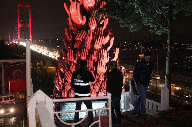 İstanbul Beşiktaş'ta patlama sesi paniğe yol açtı
