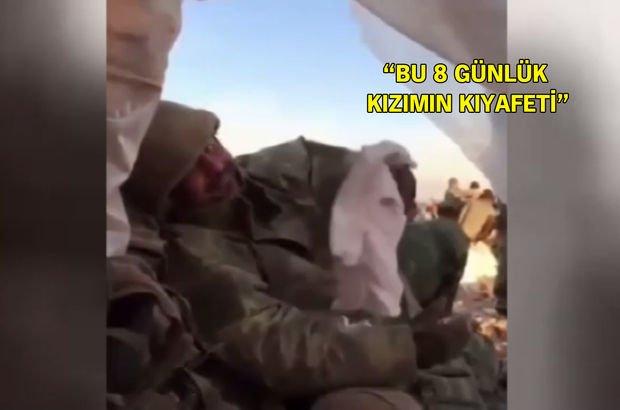 Kuzey Irak'taki komutanın duygulandıran mesajı!