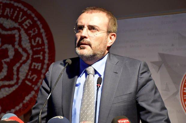 AK Parti Sözcüsü Ünal'dan Gökçek'in istifasıyla ilgili açıklama