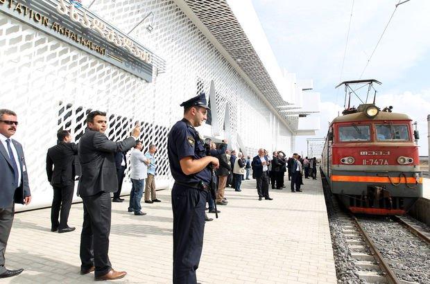 Bakü-Tiflis-Kars demiryolu hattında son durum - Bakü-Tiflis-Kars demiryolu hattı 30 Ekim'de açılıyor