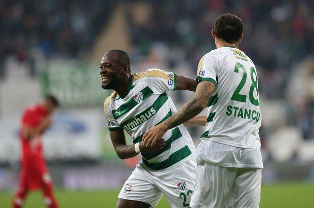 Bursaspor Antalyaspor maç sonucu