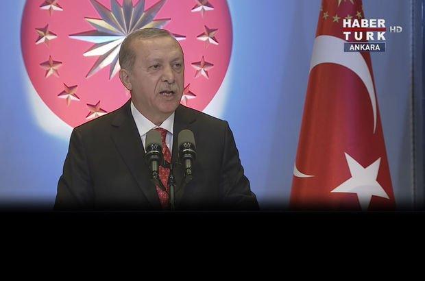 Recep Tayyip Erdoğan 29 Ekim Cumhuriyet resepsiyonu