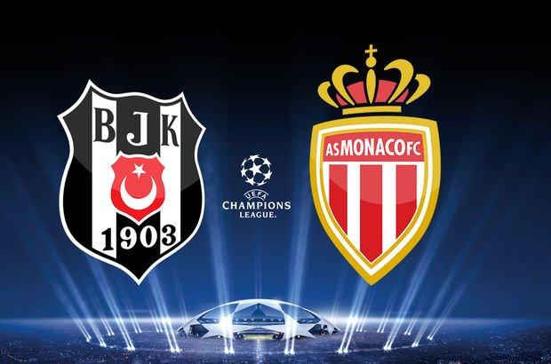 Beşiktaş Monaco maçı hangi kanalda, ne zaman? BJK Monaco maçı saat kaçta?