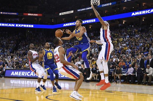 Detroit Pistons-Golden State Warriors