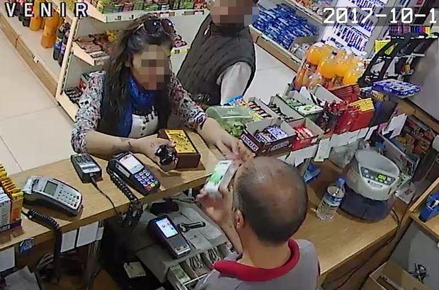 Adana'da bir kişi markette bulunan sadaka kutusunu çaldı