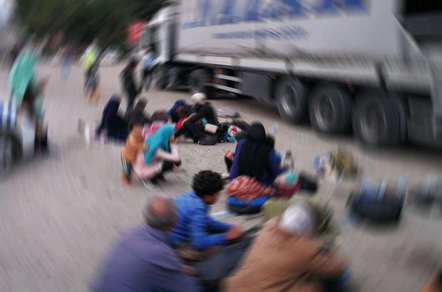 Kastamonu'da bir TIR içinde 148 göçmen yakalandı