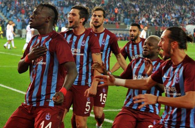 Trabzonspor'un bu sezonki puanlarının yarısı İstanbul ekiplerinden!