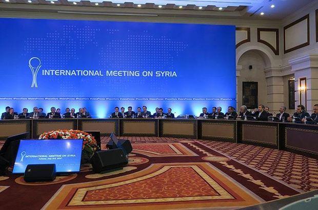 Astana'da Suriye 7. kez masada!