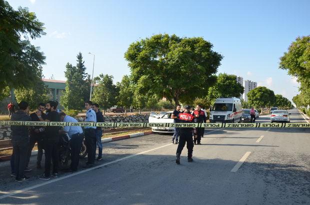 Mersin'de akaryakıt istasyonu müdürü direksiyon başında öldürüldü