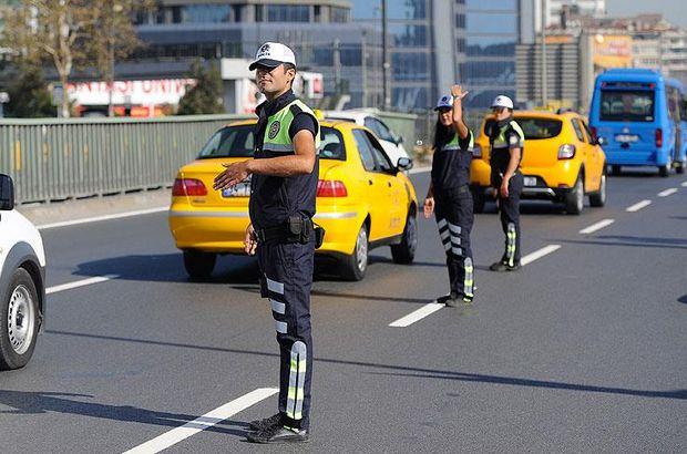istanbul trafiğe kapalı yol 30.10.2017