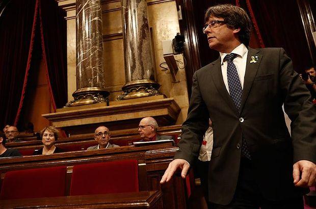 Katalonya krizi Belçika'yı da karıştırdı!