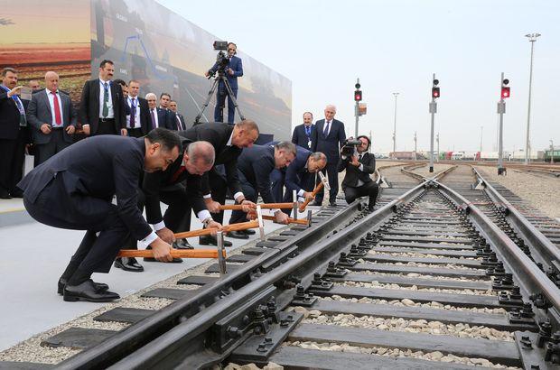 Bakü-Tiflis-Kars demiryolu hattı, recep tayyip erdoğan