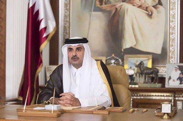 Katar Emiri: Çözüm için bir metre yaklaşana on bin mil yaklaşırım!