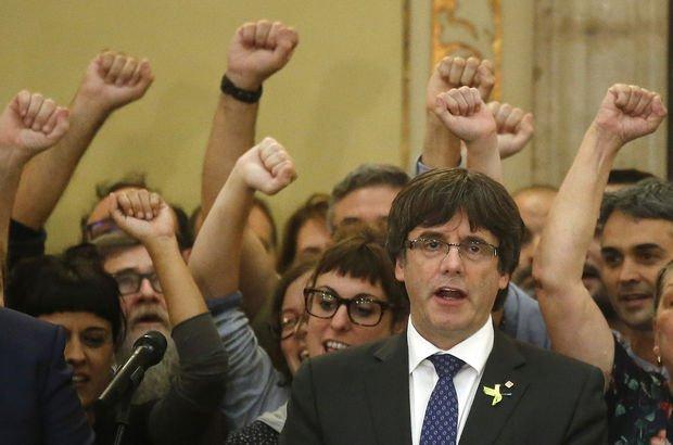 Katalan lider Puigdemont Belçika'ya gitti!