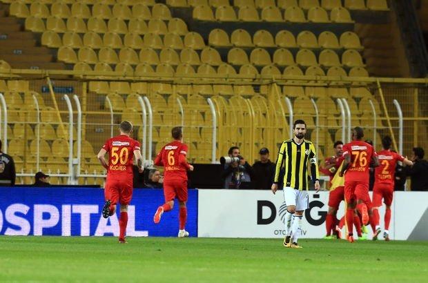 Fenerbahçe: 3 - Kayserispor: 3 | MAÇ SONUCU - Fenerbahçe Kayserispor maç özeti