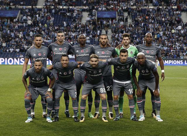Beşiktaş'ın Monaco maçı 11'i belli oldu