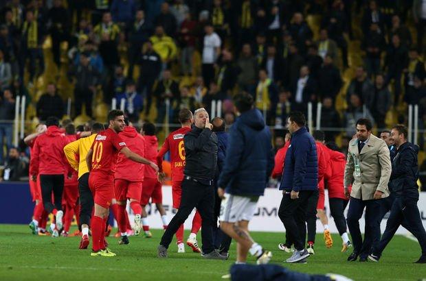 Kadıköy'de golden sonra saha karıştı