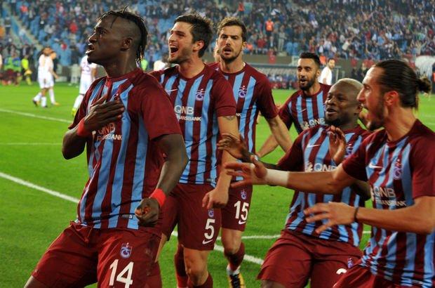 Trabzonspor Galatasaray galibiyetiyle nefes aldı