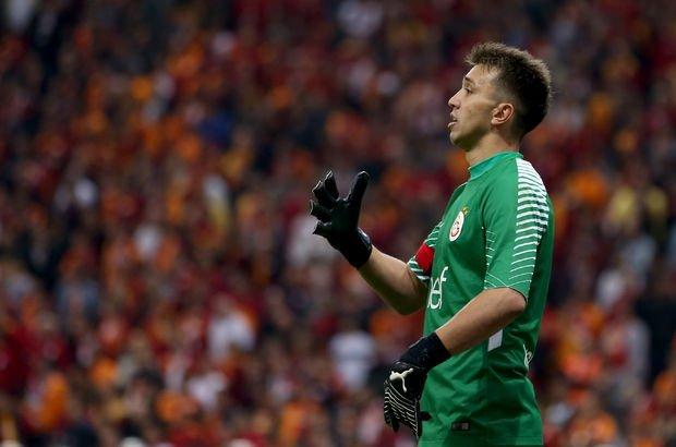 Galatasaraylı Muslera Trabzonspor maçında küfür ettiği iddialarına cevap verdi