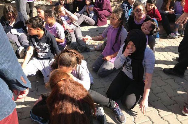 Son dakika: Kırıkkale'de okulda çok sayıda öğrenci zehirlendi
