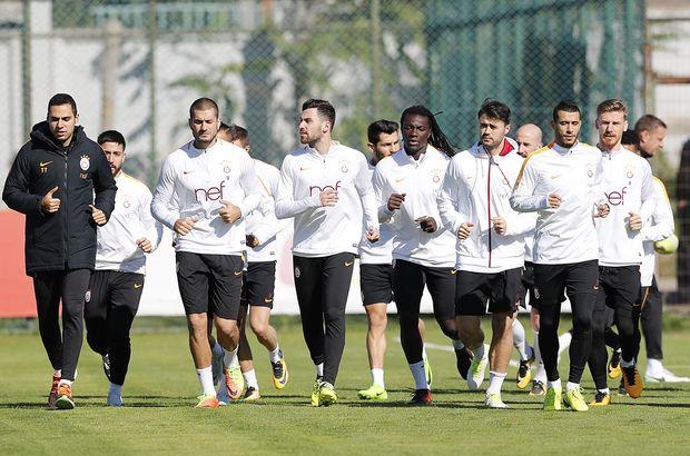 Galatasaray'da Gençlerbirliği maçı hazırlıkları