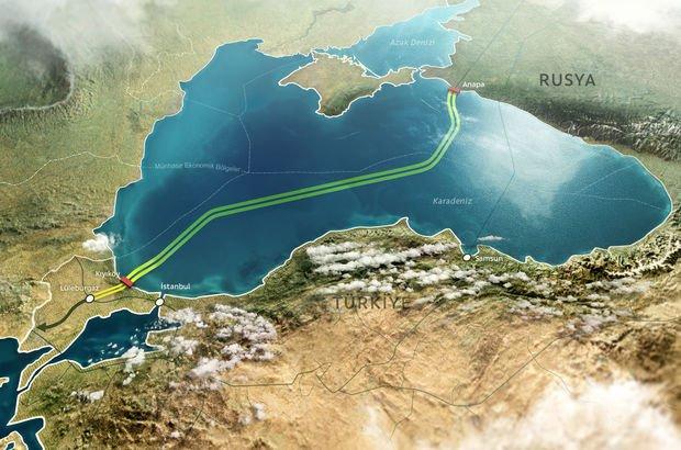 Türk Akımı, Mavi Akım, doğalgaz