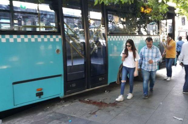 Halk otobüsü şoförü, 'Özel arabam' deyip kadın yolcuyu indirmek istedi