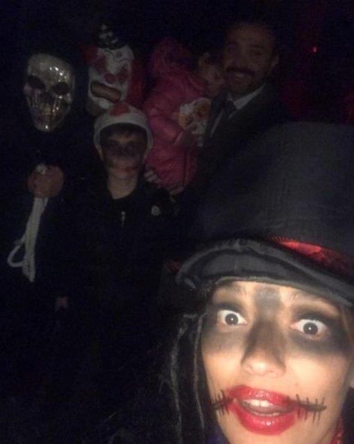 Ünlülerin Cadılar Bayramı kostümleri ve paylaşımları