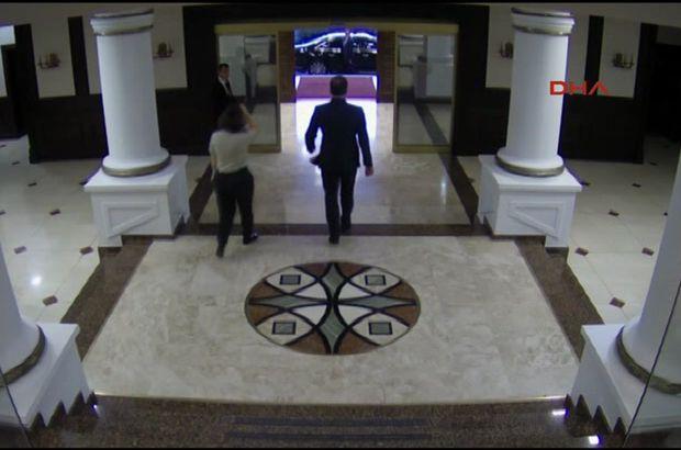 MİT Müsteşarı Hakan Fidan'ın 15 Temmuz'da Genelkurmay Karargahı'ndan ayrılma anına ilişkin görüntüler ortaya çıktı.