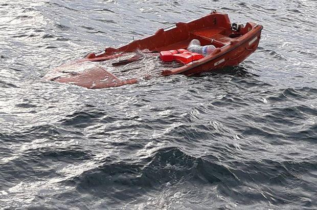 Şile'de batan gemide son durum! Batan geminin enkazına ulaşıldı