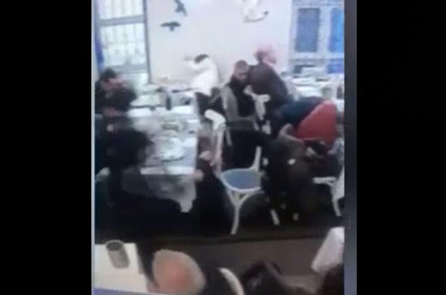 Ergenekon sanığı avukat Kutbettin Kaya'ya saldırı anı kamerada