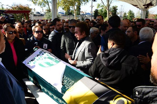 Hakan Altun'un vefat eden babası Hasan Altun son yolculuğuna uğurlandı