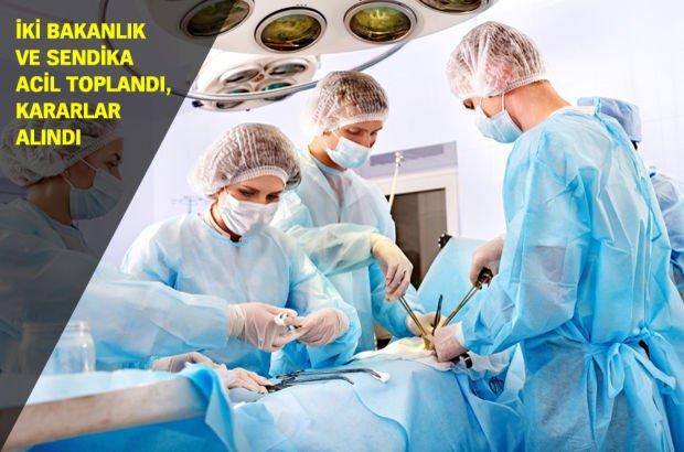 Sağlık Bakanlığı Aile ve Sosyal Politikalar Bakanlığı  Sağlık-Sen Sağlık çalışanları nöbet ve izinler