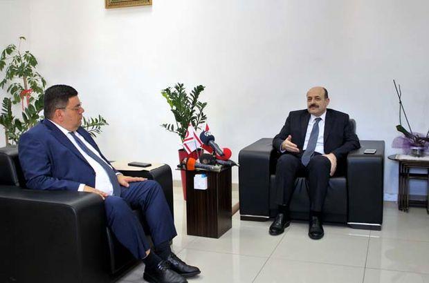 YÖK Başkanı Saraç'tan KKTC'ye önemli ziyaret