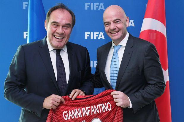 Demirören'den FIFA'ya ziyaret