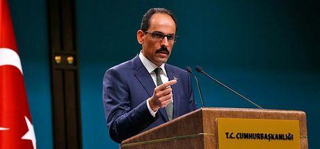 Son dakika... Cumhurbaşkanlığı Sözcüsü İbrahim Kalın: Rusya, Suriye Halkları Kongresi'ni erteledi