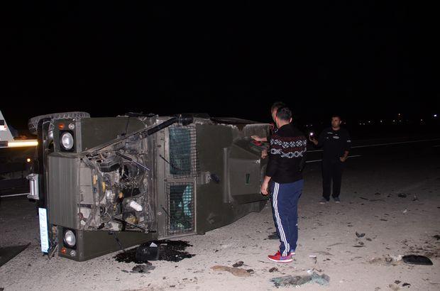 Batman'da askeri araç ile otomobil çarpıştı: 3'ü asker 5 yaralı