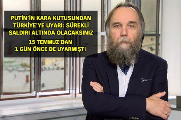 Prof. Aleksandr Dugin Türkiye'ye uyarı