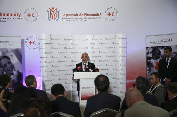 Kızılay Başkanı Kınık, Kızılay-Kızılhaç Avrupa Başkanı oldu