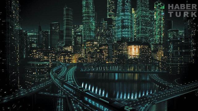 İşte akıllı şehir: Her gün İstanbul nüfusunun 2 katını taşıyor