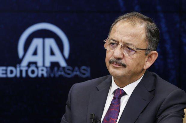 Bakan Özhaseki'den önemli açıklamalar