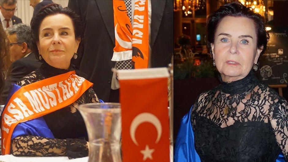 Fatma Girik, Mustafa Kemal Atatürk