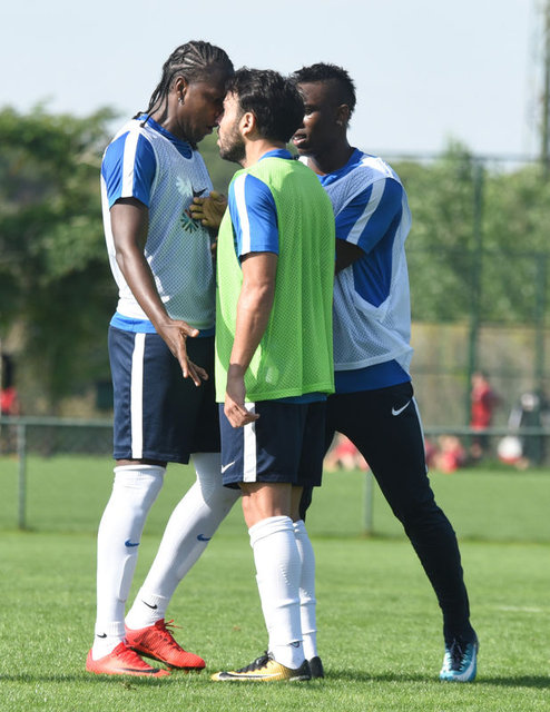 Trabzonspor'da Rodallega-Volkan Şen gerginliği