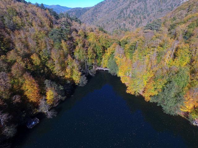 Türkiye'nin cennet köşelerinde sonbahar manzarları