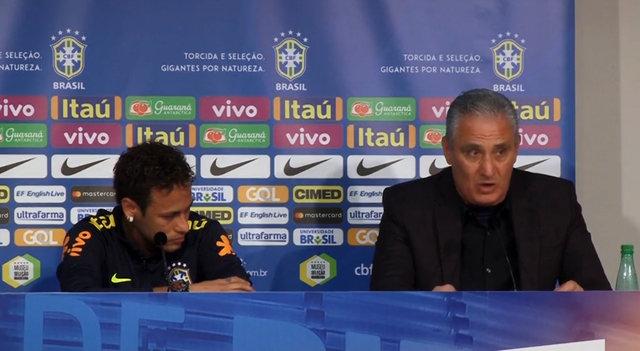 Neymar basın toplantısında ağladı - Neymar Japonya maçı sonrası ağladı